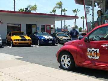 Historic 101 Cafe Oceanside California