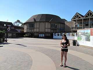 Balboa Park San Diego Old Globe Theater