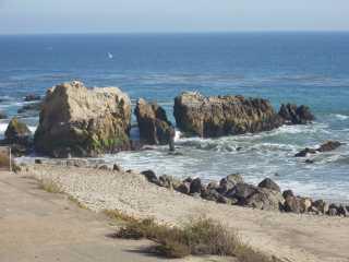Malibu beach: Leo Carillo State Beach