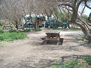 McGrath State Beach Group Camping area