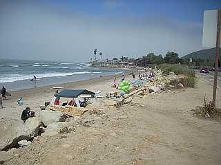 Rincon Parkway beach Ventura California