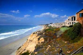 Solana Beach coast view