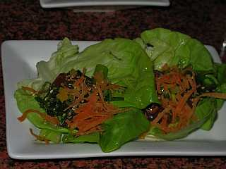 San Diego tapas restaurant the marble room lettuce wraps