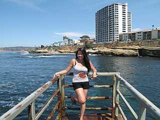 La Jolla in San Diego overlook
