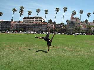 Jayson in the park La Jolla