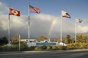 Santa Barbara Airport Entrance