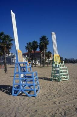 Santa Monica Singing Beach Chairs