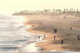 Huntington Beach from air
