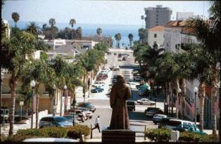 Ventura beach downtown Ventura