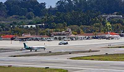 Santa Barbara Airport Runway